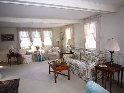 Orleans Cape Cod vacation rental - Bright and sunny front to back living room.