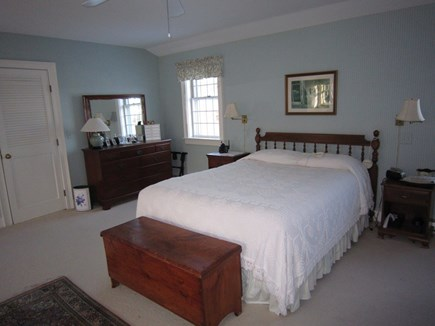 Orleans Cape Cod vacation rental - Master bedroom with queen bed and private bath.