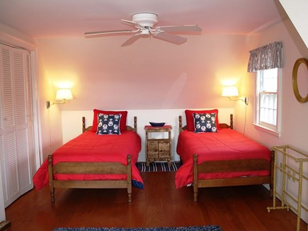 Orleans Cape Cod vacation rental - Upstairs bedroom with 2 twin beds.