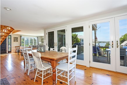 Orleans Cape Cod vacation rental - Wonderful dining area.