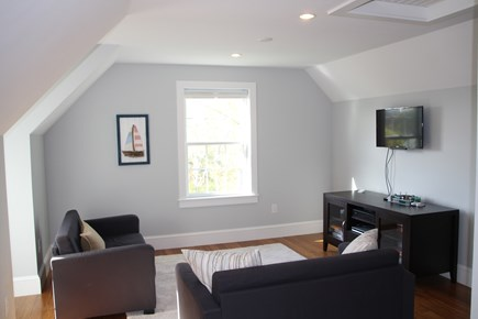 Orleans Cape Cod vacation rental - Playroom with flat screen and 2 futons.