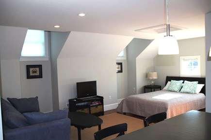 Orleans Cape Cod vacation rental - Guest quarters with fold out couch and queen bed.