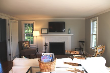 Orleans Cape Cod vacation rental - Comfortable living room with flat screen TV.
