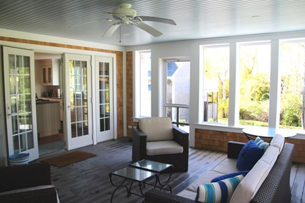 Orleans Cape Cod vacation rental - Awesome screened porch for summer enjoyment.