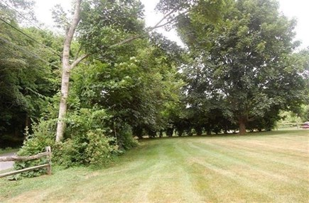 Orleans Cape Cod vacation rental - Great lawn in backyard.