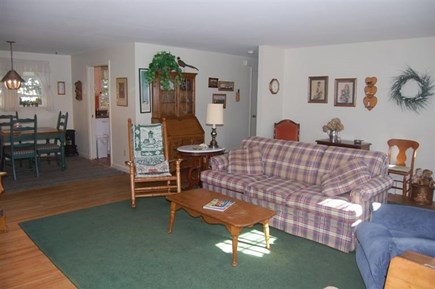 Orleans Cape Cod vacation rental - Living room looking toward dining area.
