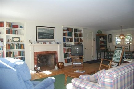Orleans Cape Cod vacation rental - Cozy Living area.