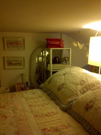 North Truro Cape Cod vacation rental - Sleeping loft queen size bed