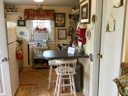 North Truro Cape Cod vacation rental - Fully equipped kitchen, breakfast bar for 2