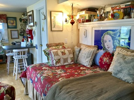 North Truro Cape Cod vacation rental - Open floor plan, cathedral ceiling