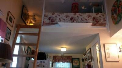 North Truro Cape Cod vacation rental - Sleeping loft over kitchen