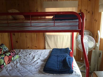 Eastham Cape Cod vacation rental - 2nd bedroom bunkbeds full on the bottom, twin on top