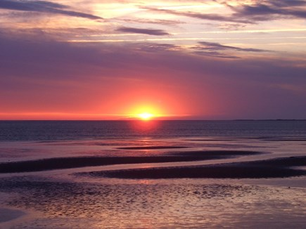 Eastham Cape Cod vacation rental - Enjoy gorgeous sunsets over Cape Cod Bay