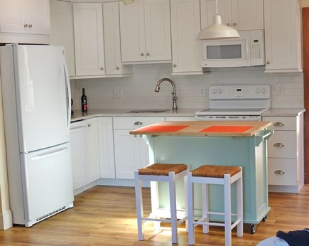 Dennis, North 6A, Bay Beaches! Cape Cod vacation rental - Renovated Light and Bright Kitchen