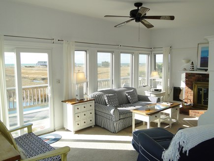 Eastham Cape Cod vacation rental - Living Room with Views from Every Window