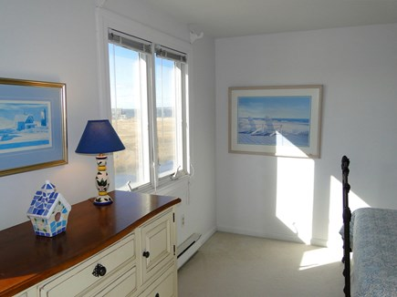 Eastham Cape Cod vacation rental - Queen Bedroom Upstairs with Panoramic View of Bay and Marsh.