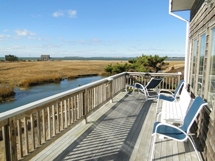 Eastham Cape Cod vacation rental - Waterside Deck Views