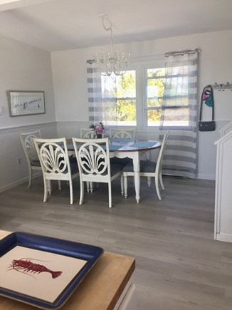 Eastham Cape Cod vacation rental - Dining Room with Marsh Views, New Floors Throughout Living Areas