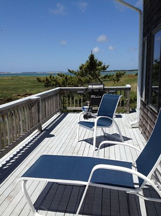 Eastham Cape Cod vacation rental - Waterside Deck