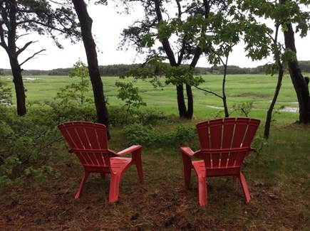 Wellfleet Cape Cod vacation rental - The view from the front