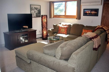 Wellfleet Cape Cod vacation rental - Another place to gather - lower level family room