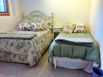 Wellfleet Cape Cod vacation rental - The third lower level bedroom - a full and a twin