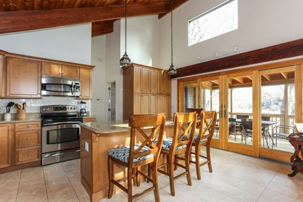 Wellfleet Cape Cod vacation rental - The well appointed kitchen