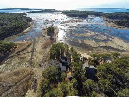 Wellfleet Cape Cod vacation rental - Aerial view of Ruby's Point