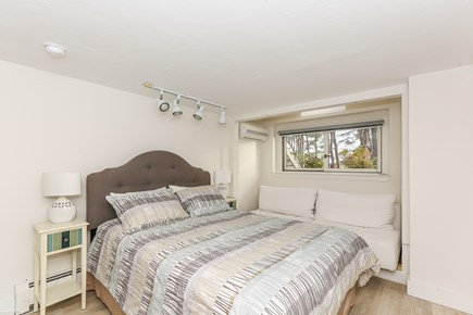 Wellfleet Cape Cod vacation rental - Lower level bedroom #1 with queen bed