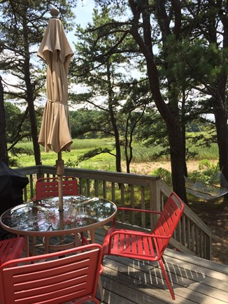 Wellfleet Cape Cod vacation rental - Outdoor deck and grill