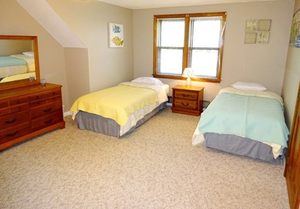 Brewster Cape Cod vacation rental - Upstairs bedroom with 4 twins