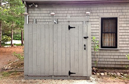 Brewster Cape Cod vacation rental - New enclosed outdoor shower