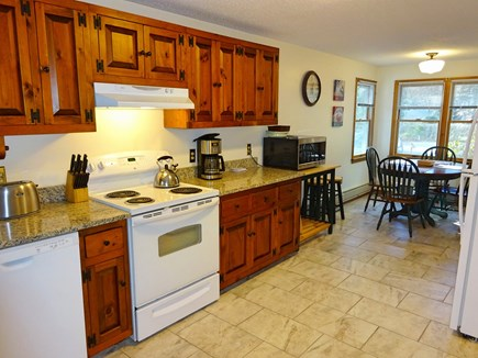 Brewster Cape Cod vacation rental - Large kitchen with granite countertops