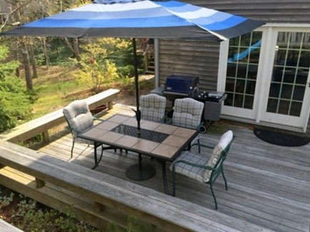 North Eastham Cape Cod vacation rental - Deck
