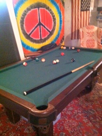 North Eastham Cape Cod vacation rental - Pool table