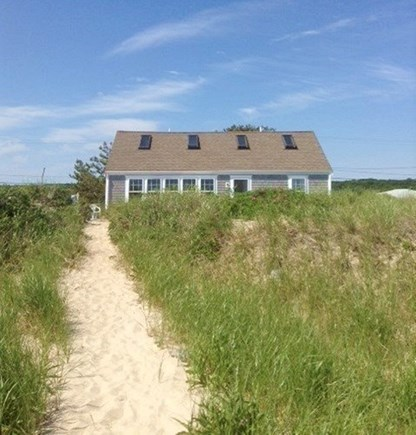 Sagamore Beach Sagamore Beach vacation rental - View of the house from the beach