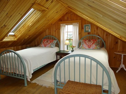 Sagamore Beach Sagamore Beach vacation rental - Twin bedroom upstairs, multiple skylights