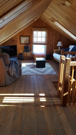 Sagamore Beach Sagamore Beach vacation rental - Second floor living area with skylight facing beach.