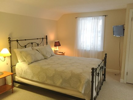 Harwich Cape Cod vacation rental - 3rd Bedroom on Upper Floor with Queen bed and TV