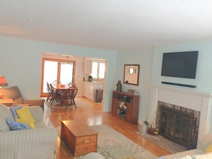 Harwich Cape Cod vacation rental - Another look at main living area and flat screen tv