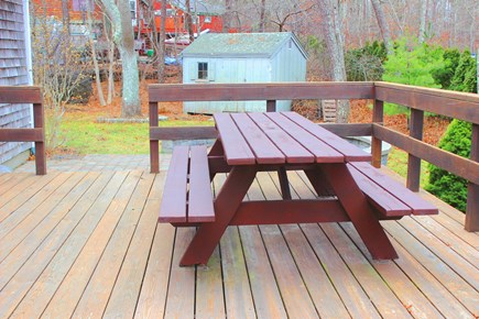 Harwich Cape Cod vacation rental - Deck Area