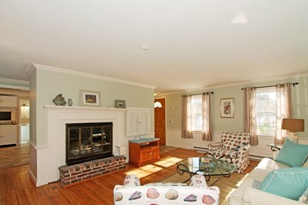 East Brewster Cape Cod vacation rental - Spacious living room  with ample seating.