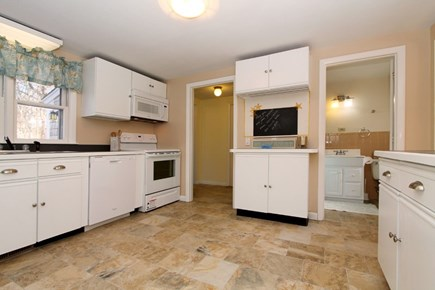 East Brewster Cape Cod vacation rental - Inviting kitchen w/plenty of counter space to prep large dinners.