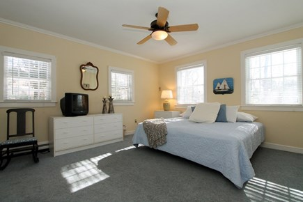 East Brewster Cape Cod vacation rental - First floor bedroom with king and full size beds - sleeps 4