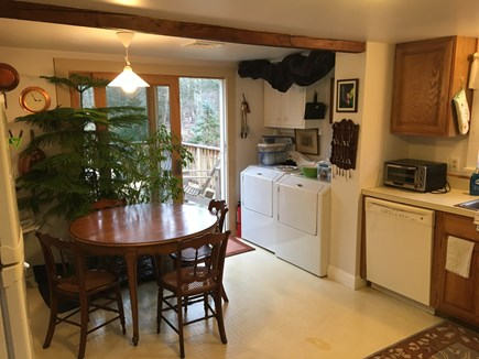 Orleans Cape Cod vacation rental - Eat In KitchenWasher/Dryer