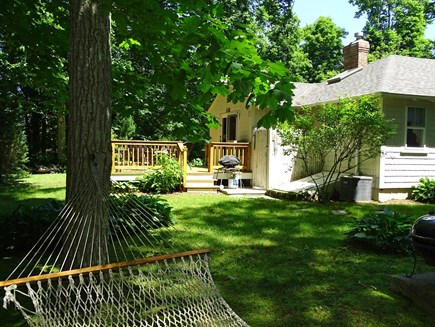 Orleans Cape Cod vacation rental - Relax on the hammock or back deck