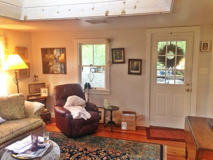 Orleans Cape Cod vacation rental - Cozy Living Room with skylight.