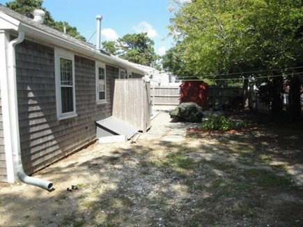 Dennis Cape Cod vacation rental - Back of home and outside shower