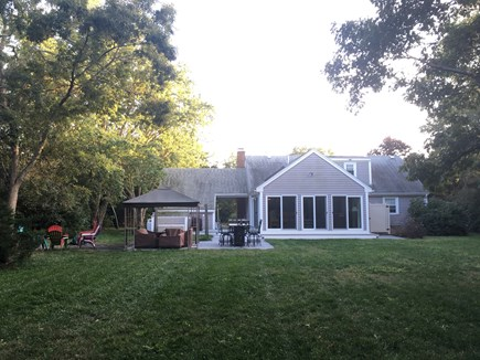 Eastham Cape Cod vacation rental - Spacious backyard.