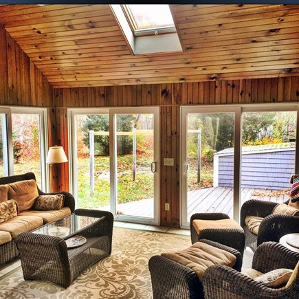 Eastham Cape Cod vacation rental - Sun Room off of Kitchen